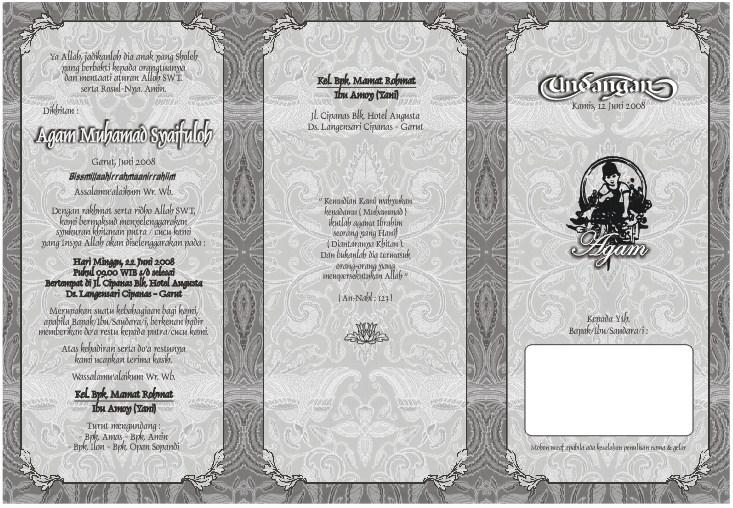 Undangan Pernikahan Word | Joy Studio Design Gallery